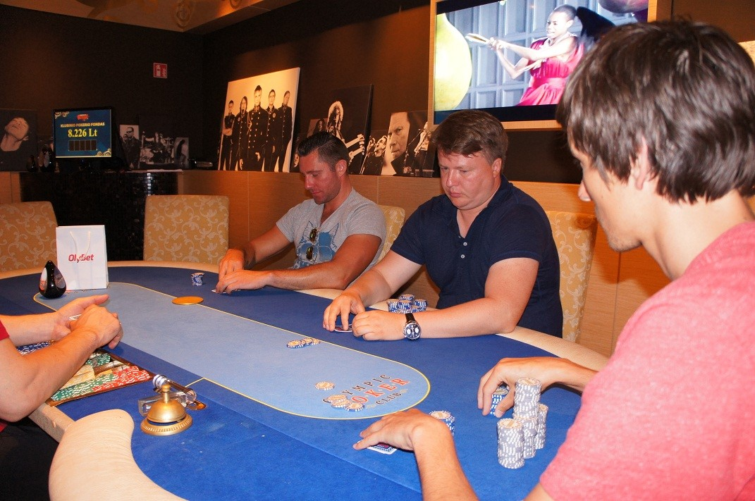 "Antrajame ""Summer Rock Poker Session"" ture triumfavo Mindaugas Chomičius 101"