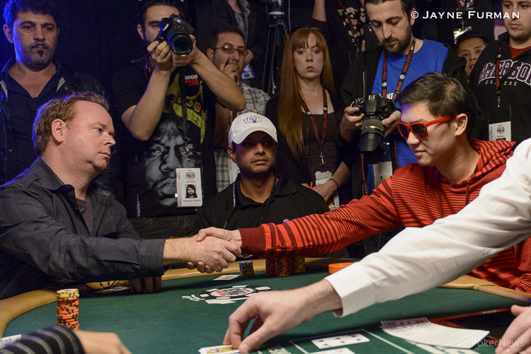 Five Simultaneous All-Ins Create Exciting Money Bubble at WSOP Main Event 102