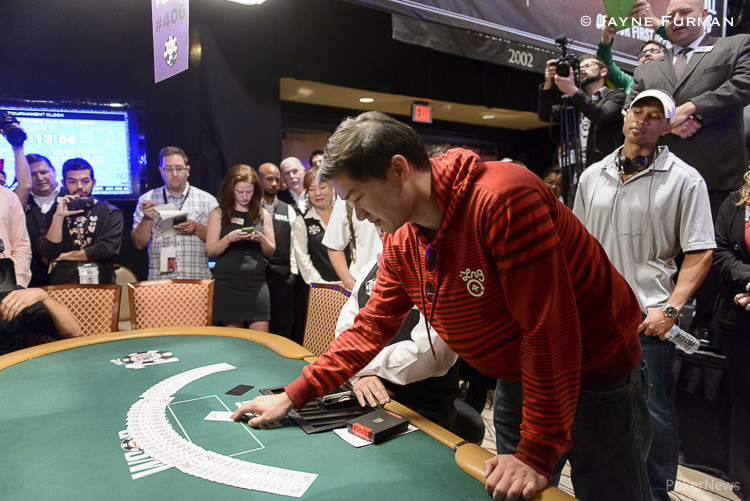 Five Simultaneous All-Ins Create Exciting Money Bubble at WSOP Main Event 105