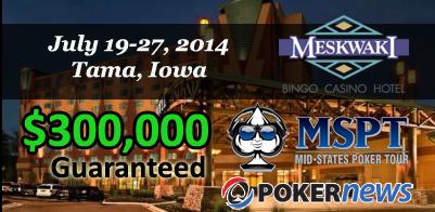 Season 5 of Mid-States Poker Tour Returns to Meskwaki Casino in Tama, Iowa 101
