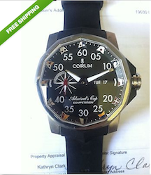 Jerry Yang's 2007 WSOP Corum Admiral's Cup Watch Up for Auction on eBay 101