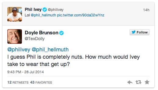 """Phil Hellmuth é o novo """"Poker Baby"""" 101"""