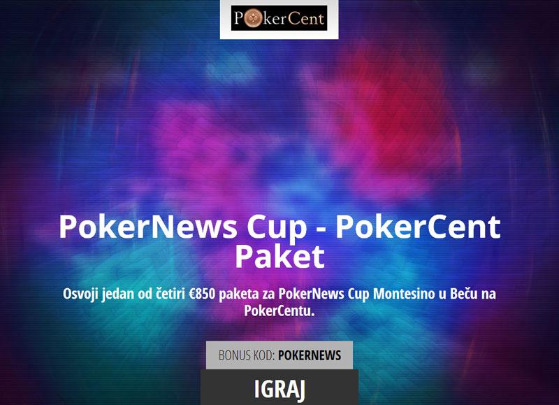 jedan od četiri €850 paketa za PokerNews Cup Montesino u Beču