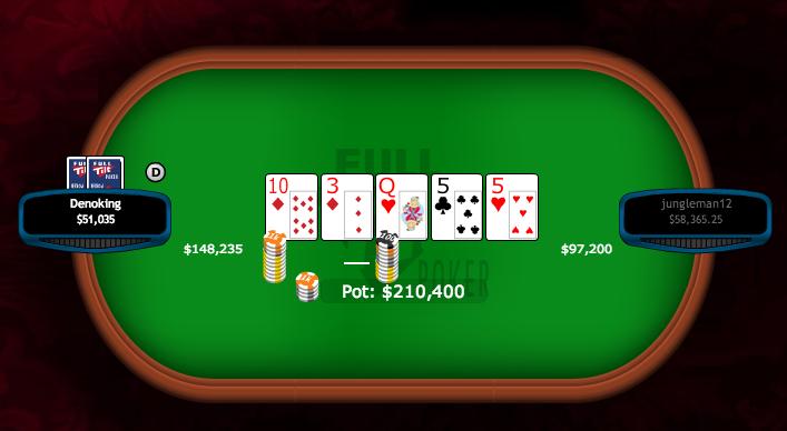 """Dan """"jungleman12"""" Cates Ganha 0,000 na Full Tilt Poker 101"""