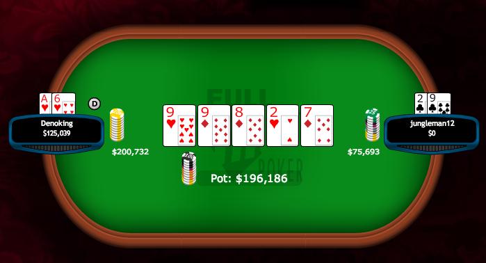 """Dan """"jungleman12"""" Cates Ganha 0,000 na Full Tilt Poker 102"""