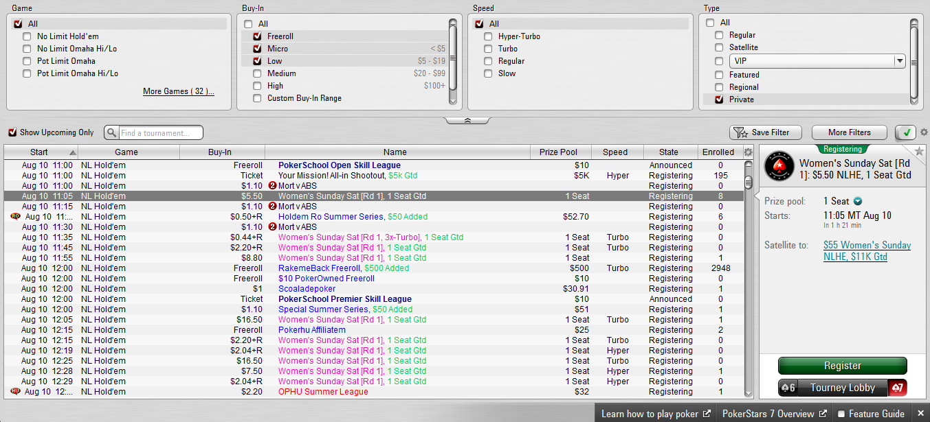 PokerStars 7: A New Look to your Favourite Poker Client 103
