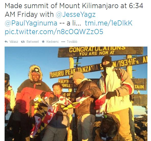Americký pokerový profesionál Shannon Shorr zdolal Kilimanjaro 101