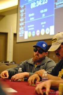 2014 MSPT Grand Falls Casino Day 1a: Team Pro Blake Bohn Bags Massive Chip Lead 101