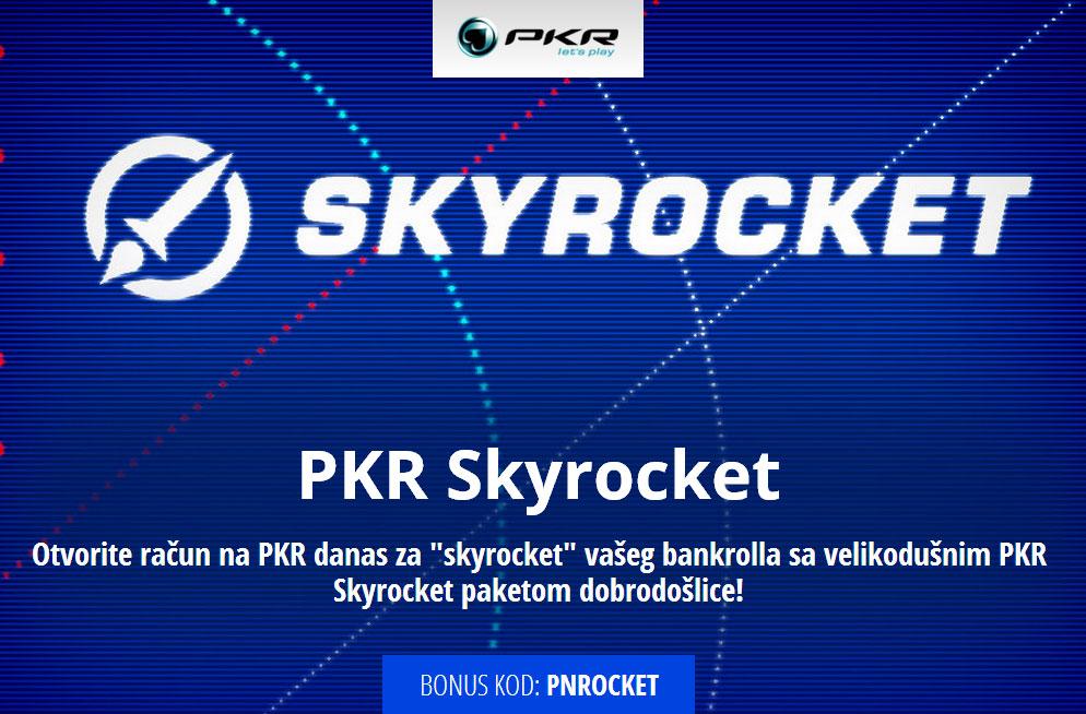 PKR Skyrocket paket dobrodošlice!