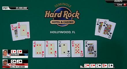 Dan Colman l'alieno! Vince anche il Seminole Hard Rock Poker Open per oltre 1,4 milioni di... 101