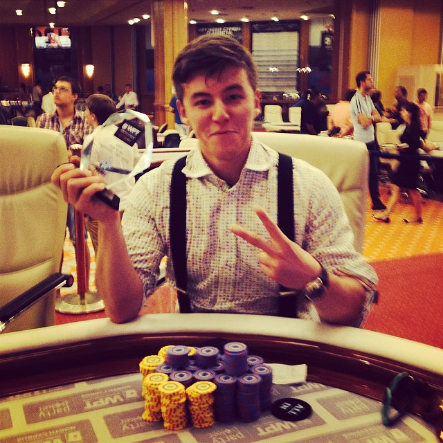 Александр Лахов выиграл главный турнир partypoker WPT... 101
