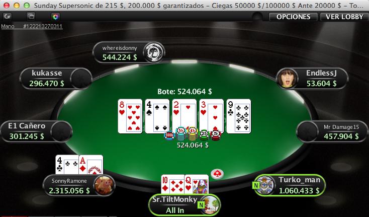 Luís Rodríguez aprovecha la noche más grande del poker online 101