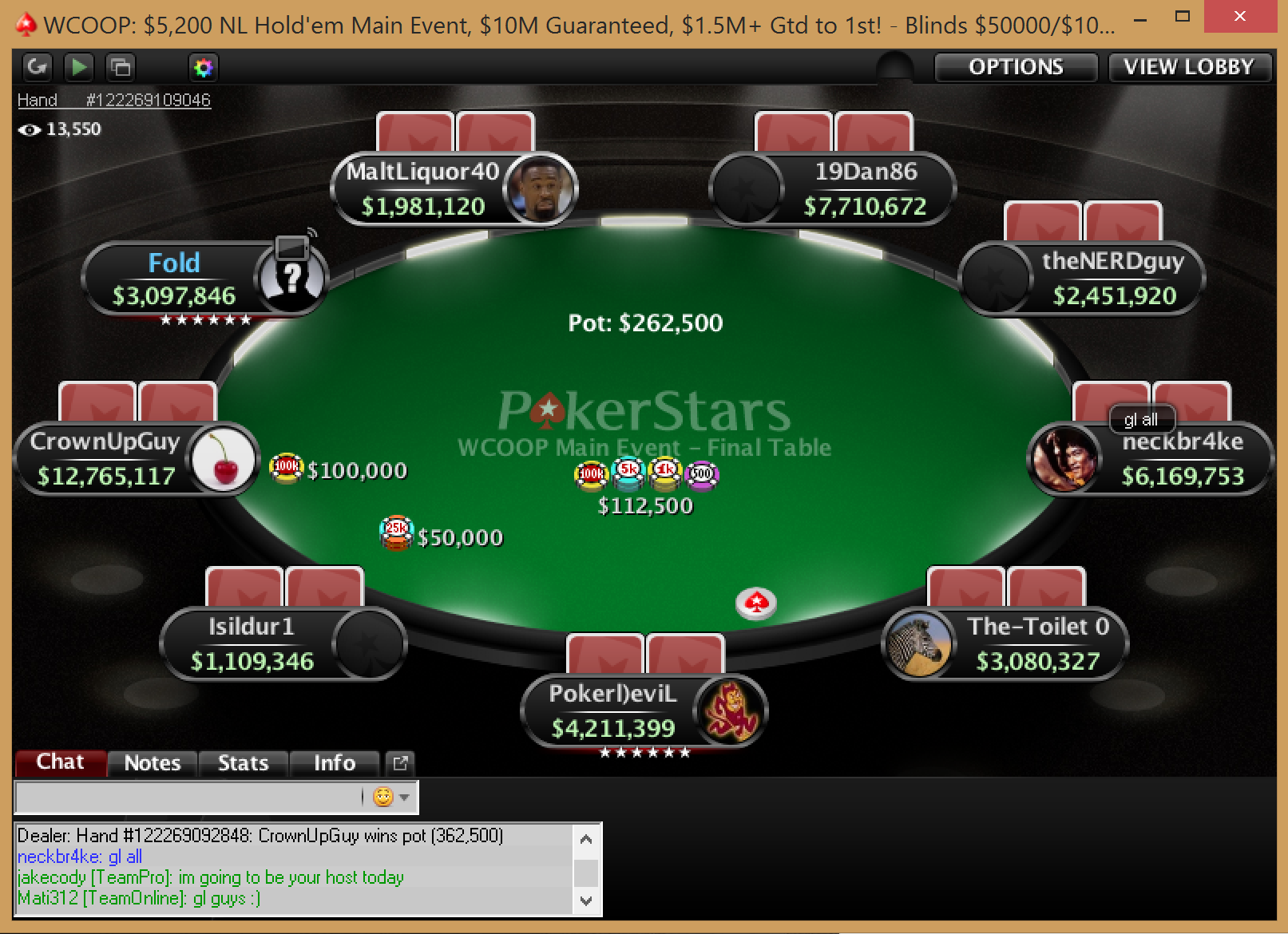 "Fedor ""CrownUpGuy"" Holz Wins 2014 WCOOP Main Event for .3 Million 101"