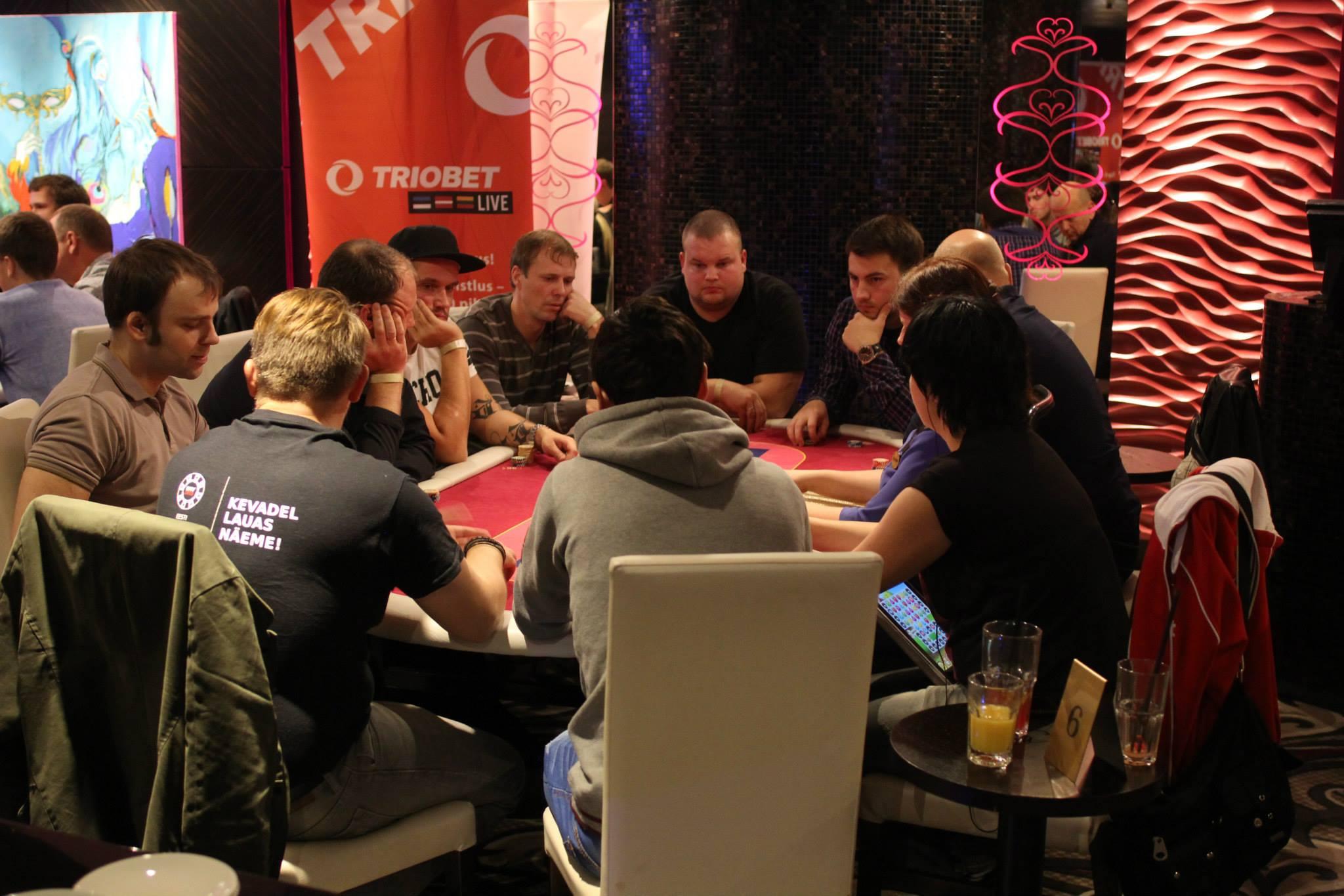 Triobet Live'il domineerisid teenekad pokkeriveteranid 101