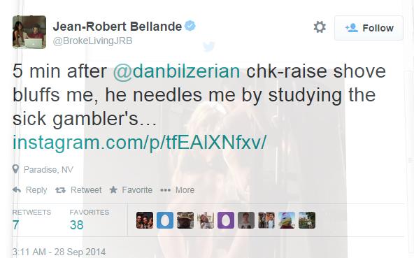 Dan Bilzerian vybluffoval od Bellanda v Arii půl milonu 103