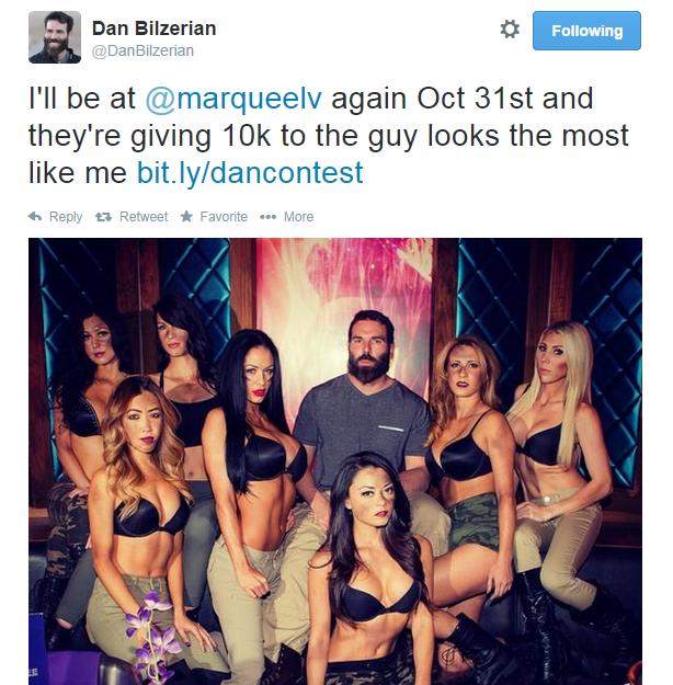 Vo Vegas vyhlásili súťaž o najlepšieho dvojníka Dana Bilzeriana 103