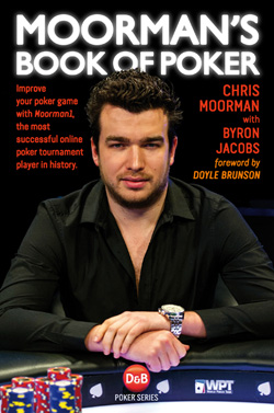 Moorman's Book of Poker front cover