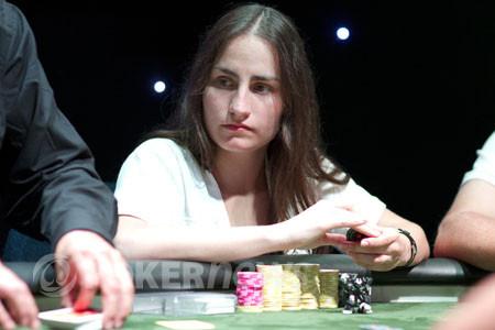 """Daniela Horno: """"No tengo miedo de bluffear hasta el final"""" 101"""