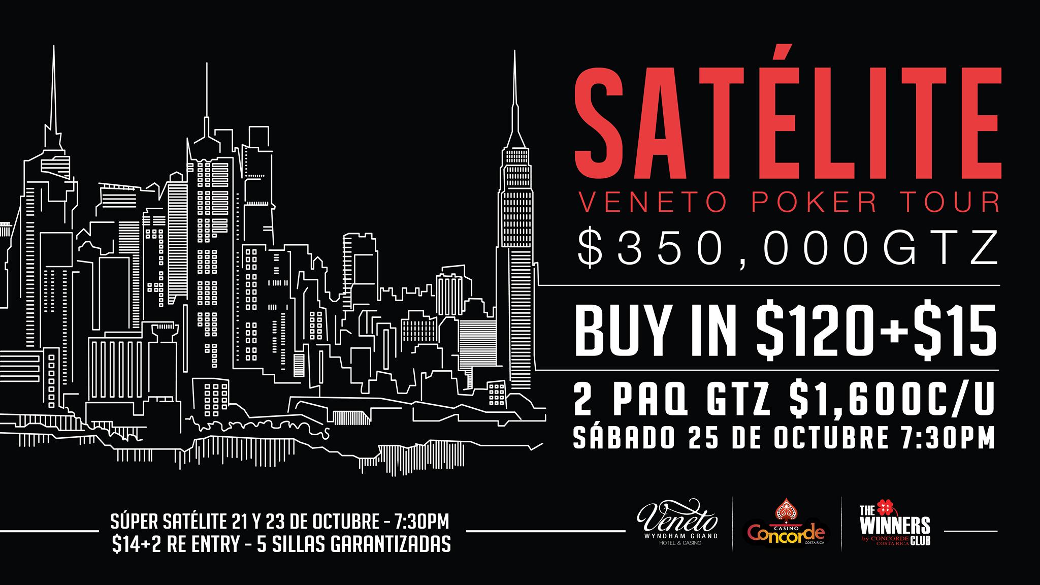 ¡Se viene satélite al Veneto Poker Tour! 101