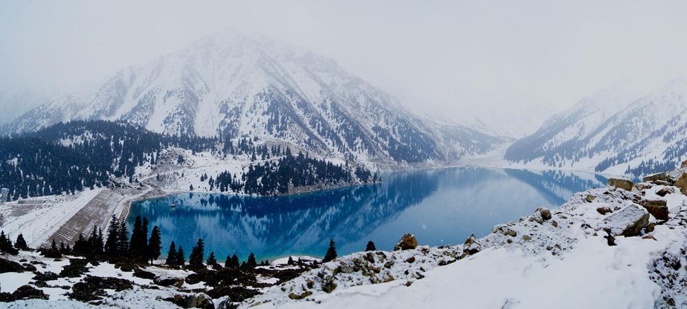 казахстан - озеро