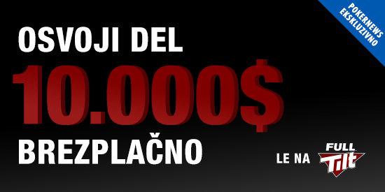 BREZPLAČNI PokerNews turnirji po 10.000$