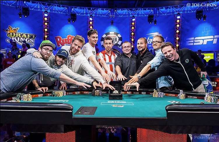 Predicciones de la mesa final WSOP 2014 Main Event 101
