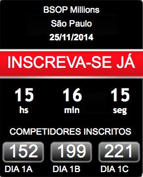 ¡Hoy comienza el BSOP en São Paulo! 101