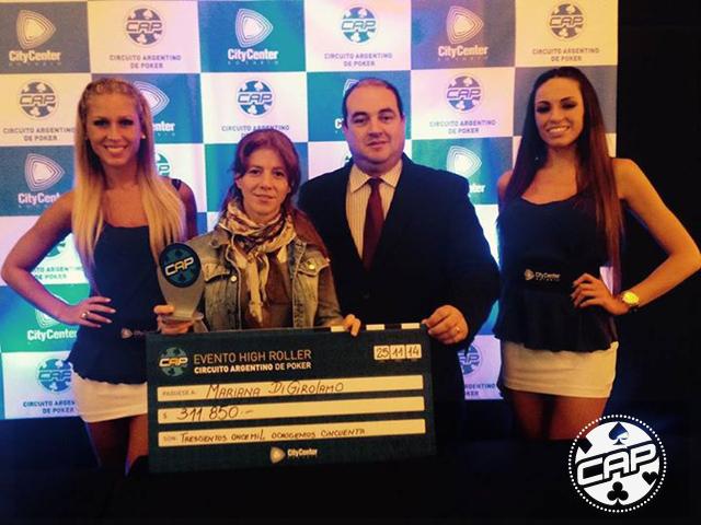 Mauro Werbach ganó la histórica final del Circuito Argentino de Poker 101