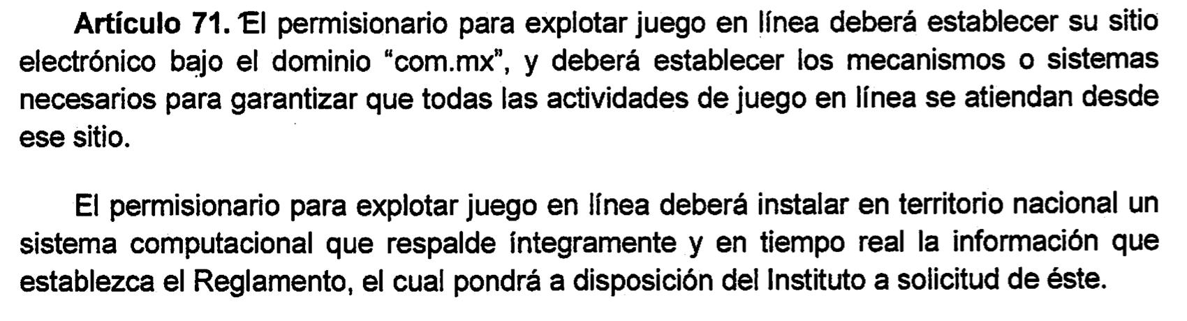 Conoce la nueva ley de Juegos y Sorteos en México 101