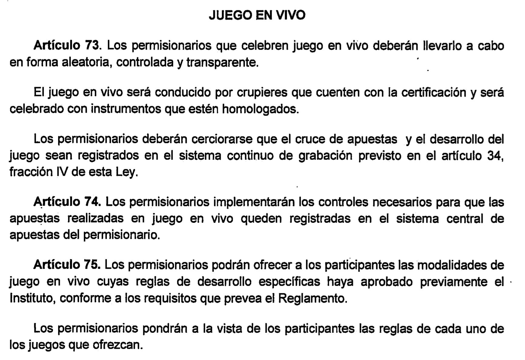 Conoce la nueva ley de Juegos y Sorteos en México 102