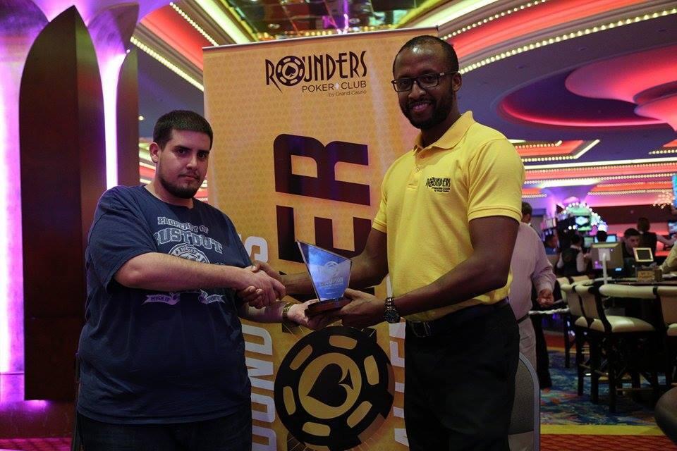 Francisco Milanés gana el Rounders Poker Challenge 102