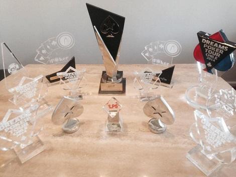 Trofeos ganados por Óscar Alache durante la Temporada 2014