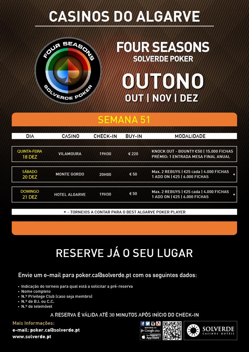Casino Vilamoura Realiza Torneio Knockout €220 (Amanhã às 20:00) 101