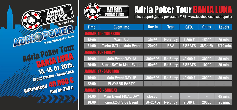 Banja Luka je Sledeća Stanica Adria Poker Tour Eventa od 15.-18. Januara 2015. 101