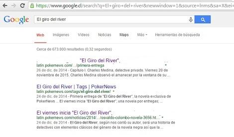 "Segunda entrega de ""El Giro del River"", la novela exclusiva de PokerNews 101"