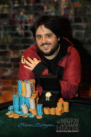 David Tuthill Wins 2015 Beau Rivage Million Dollar Heater Main Event for 5,000 101