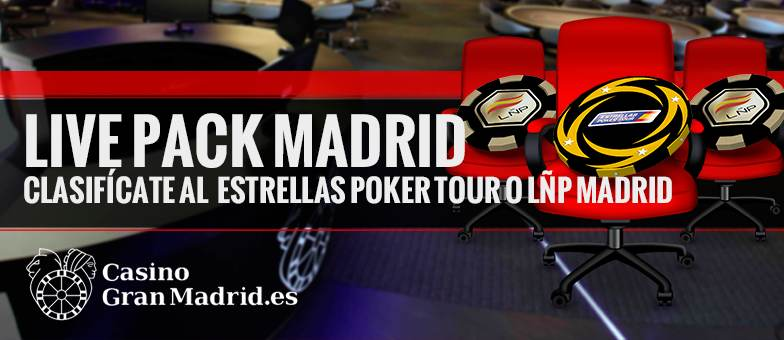 Consigue tu entrada para el Estrellas Poker Tour o la LÑP en Madrid 101