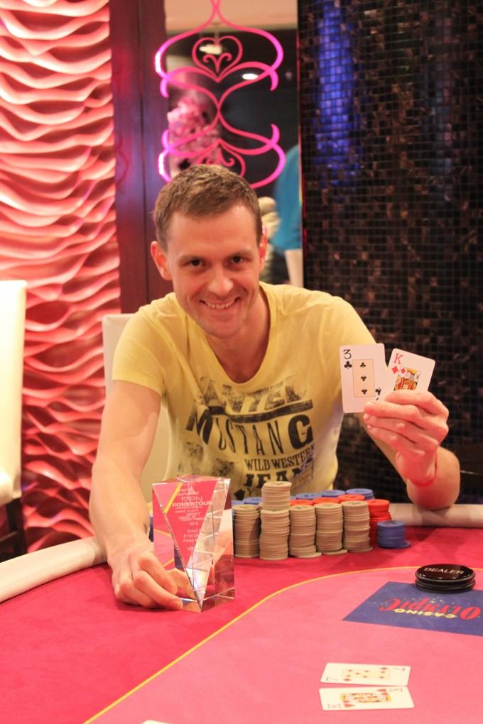 Tallinna MPN Poker Tour põhiturniiri finaalpäeva alustab liidrina Raigo Aasmaa 102
