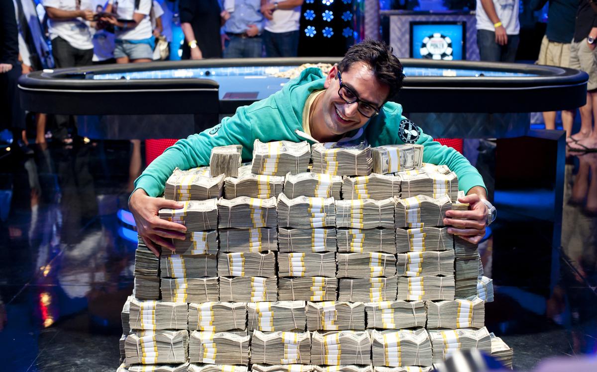 Největší turnajové výhry inkasoval Daniel Negreanu 102