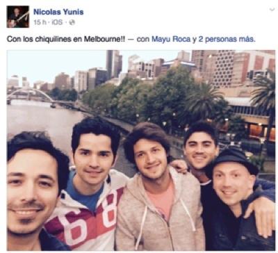 Ángel Guillén cerca de un anillo en el Aussie, Latinomérica ¡Presente! 101