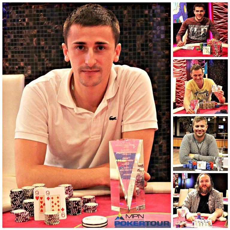 Viis eestlast jõudsid Tallinna MPN Poker Tour põhiturniiri finaallauda! 101