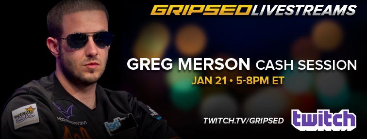 Aquiles Tramou Greg Merson, Grind Online a Ser Preparado (22h) 101