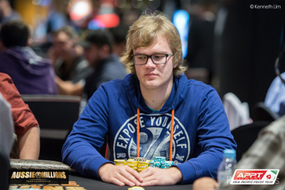 Jan Suchánek končí na 19. místě v .600 Main eventu Aussie Millions, výhra AU.000 101