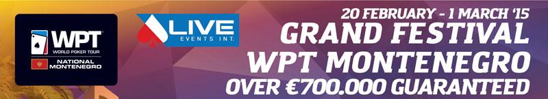 World Poker Tour National i Live Events Int. u Crnoj Gori