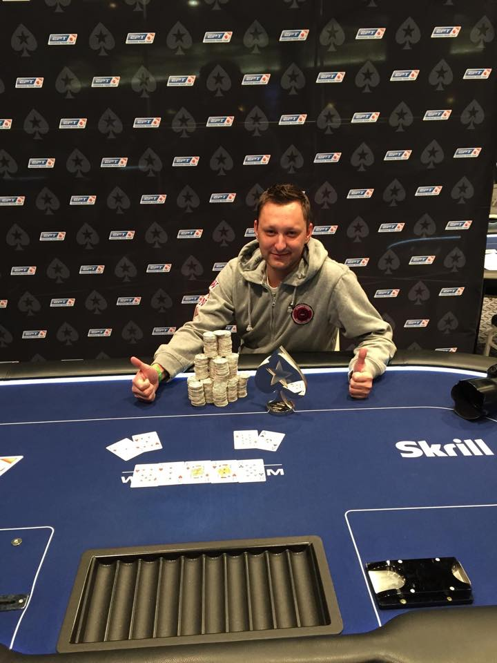 Neividas Biriukovas triumfavo 220 eurų įpirkos šalutiniame EPT turnyre! 101