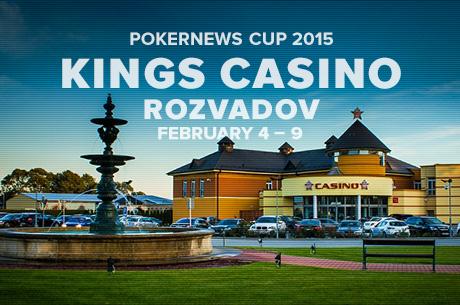 Dnes začína oslava ôsmych narodenín PokerNews Cupu v King´s Casino Rozvadov 101