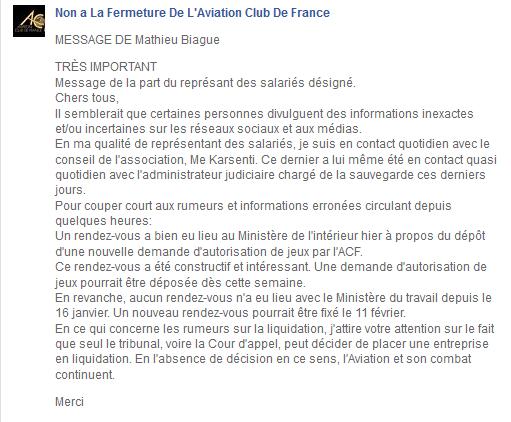 Tournoi poker aviation club de france