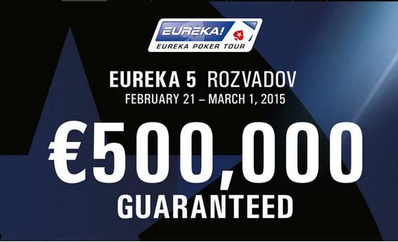 ZADARMO na Eureku €500.000 GTD do King´s Casino Rozvadov 102