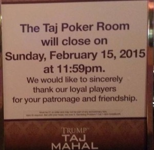 Inside Gaming: Revel Sale Unravels, Trump Taj Mahal to Close Poker Room 101