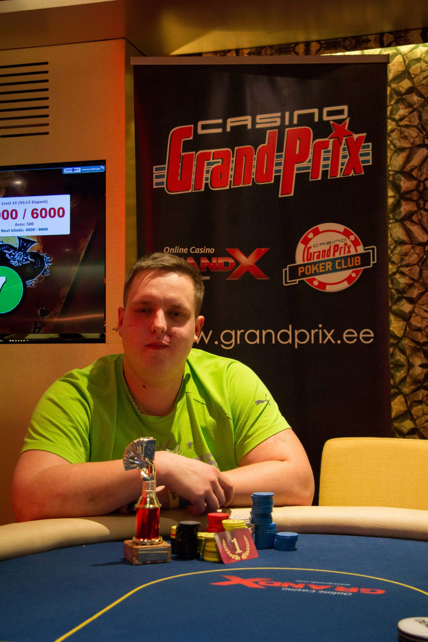 Pärnu Poker Weekendil püsitati järjekordne rekord 102